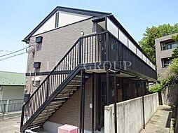 東京都八王子市散田町2丁目の賃貸アパートの外観