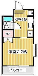 川上ビル[2階]の間取り
