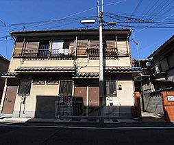 京都府京都市下京区梅小路石橋町の賃貸アパートの外観