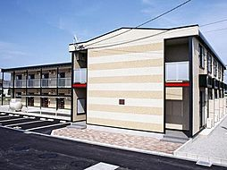 徳島県板野郡北島町中村字稗畑の賃貸アパートの外観