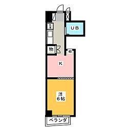 PROXY SQUARE本郷[3階]の間取り