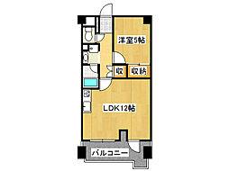 ストークマンション桜川[7階]の間取り