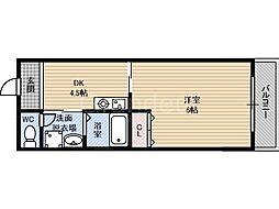 ラ・アベニュー中野[2階]の間取り