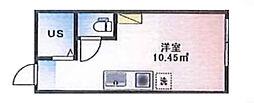 (仮称)ルームズ西早稲田B棟[102号室]の間取り