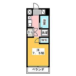 メゾン ド フォーレ[5階]の間取り