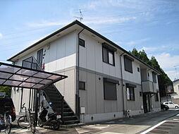 京都府木津川市木津宮ノ裏の賃貸アパートの外観