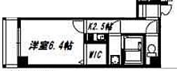 リックリグ塚本[603号室]の間取り