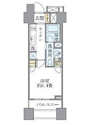 ブリリア銀座id(Brillia銀座id) 7階1Kの間取り