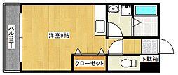 オリーヴァ花畑[3階]の間取り