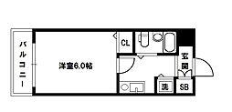 メロディーハイム淡路[3階]の間取り