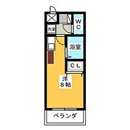 グランデュール56[3階]の間取り