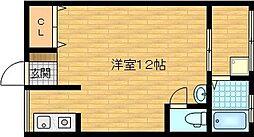 藤光園[2階]の間取り