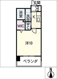 La Vita Nagoya[6階]の間取り