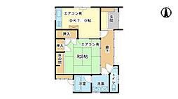 [タウンハウス] 兵庫県姫路市土山6丁目 の賃貸【/】の間取り