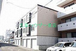 北海道札幌市東区北三十条東1丁目の賃貸アパートの外観