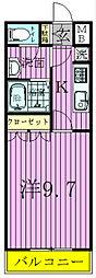 リトルフォレスト[1階]の間取り