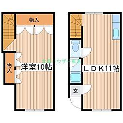 北海道札幌市東区北三十二条東7丁目の賃貸アパートの間取り