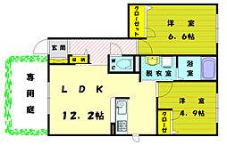 [一戸建] 福岡県福岡市東区三苫6丁目 の賃貸【/】の間取り