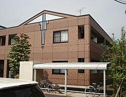 茨城県つくば市高見原1丁目の賃貸アパートの外観