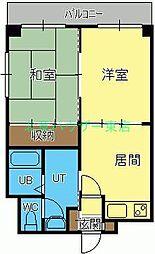 北海道札幌市東区北十九条東5丁目の賃貸マンションの間取り