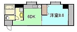 小西第3ビル[4階]の間取り