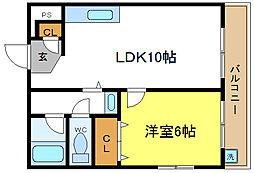 タナックマンション[3階]の間取り