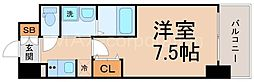 UURコート大阪十三本町[8階]の間取り
