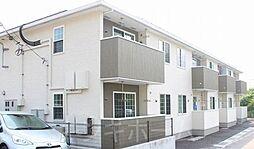 広島県広島市安芸区畑賀1丁目の賃貸アパートの外観