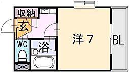 ADEKA-T[3階]の間取り