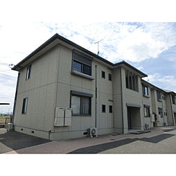 滋賀県野洲市妙光寺の賃貸アパートの外観