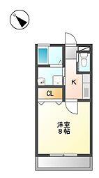 ステージ・K[1階]の間取り
