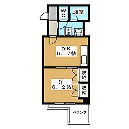 メゾン・トアン[4階]の間取り