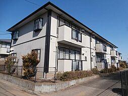 東京都三鷹市新川2の賃貸アパートの外観