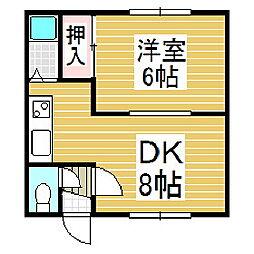 ケントハウス[301号室]の間取り