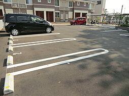 パティオ・エムズの駐車場