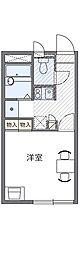 千葉県習志野市屋敷3丁目の賃貸アパートの間取り