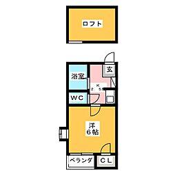 J・Dream大橋1[1階]の間取り