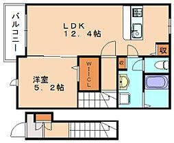ガーベラハイム[2階]の間取り