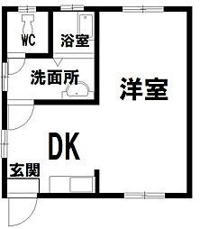 北秋田市綴子 カメリア館[7号室号室]の外観
