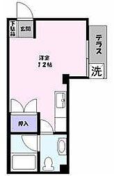 ラフェスタ東福原[1階]の間取り