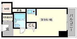 大阪府大阪市北区中之島5丁目の賃貸マンションの間取り