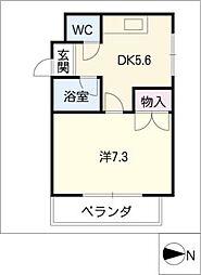 メゾン名城[4階]の間取り