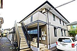 埼玉県越谷市宮本町3丁目の賃貸アパートの外観