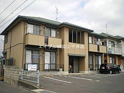 岡山県岡山市中区竹田丁目なしの賃貸アパートの外観