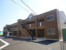 鹿児島県姶良市平松の賃貸アパートの外観