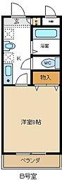 愛知県名古屋市緑区平子が丘の賃貸マンションの間取り