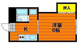 レクサス神田[3階]の間取り
