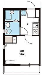 NKハウス[101号室号室]の間取り