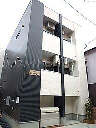 福岡県福岡市中央区春吉2の賃貸アパートの外観