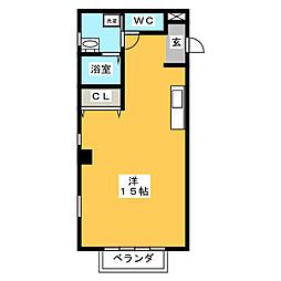 パタラシティー[2階]の間取り